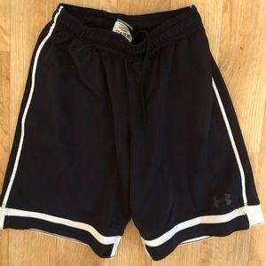 Under Armour boys basketball shorts size small
